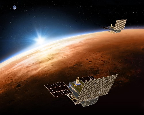 Big test coming up for tiny satellites trailing Mars lander