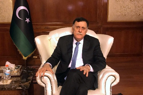 Libya PM Serraj will not sit down with rival Haftar to end war