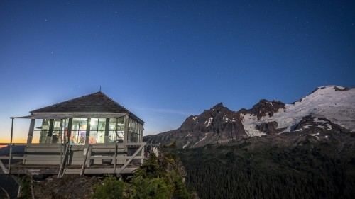 Five Fire Lookout Cabins With Amazing Views