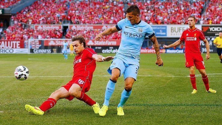 Liverpool beat Man City in New York