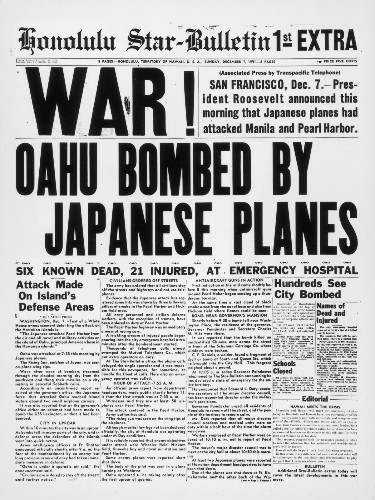 Pearl Harbor, 75 Years Ago: Pictures