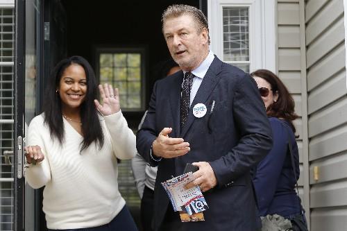 Actor Alec Baldwin to campaign for Virginia Democrats