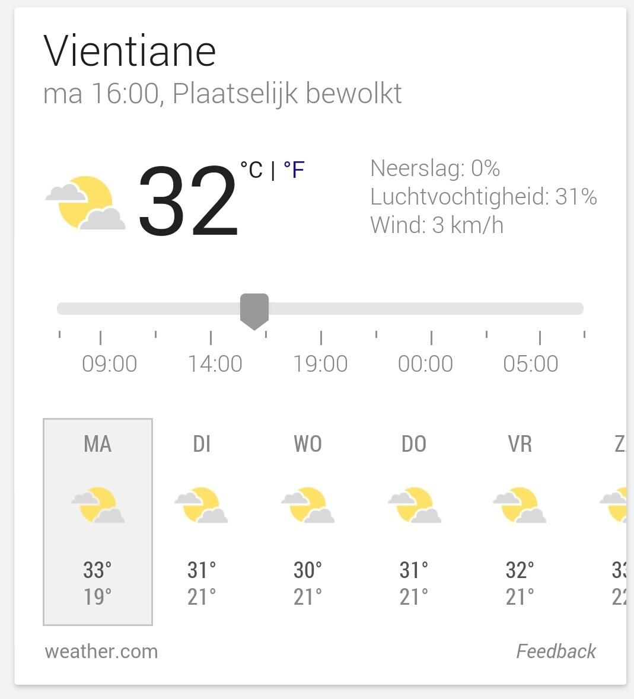 Nieuwe week, nieuw weer... Zon, plaatselijke bewolking en nog steeds érg heet. Een heel andere definitie van winter... duurt hier 2 maanden: januari en februari, met dit weer! Dat zal ik wel missen in Nederland, buiten werken. Gewoon lekker in de natuur, op je blote voeten tussen de fluitende vogeltjes. Love it! Werkze alvast morgen. Mijn werkdag start hier om 8.30, over een uurtje.