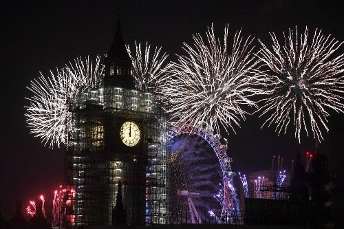 Happy New Year in Pictures