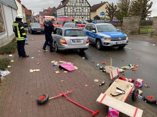 Dozens hurt as car ploughs into German carnival parade