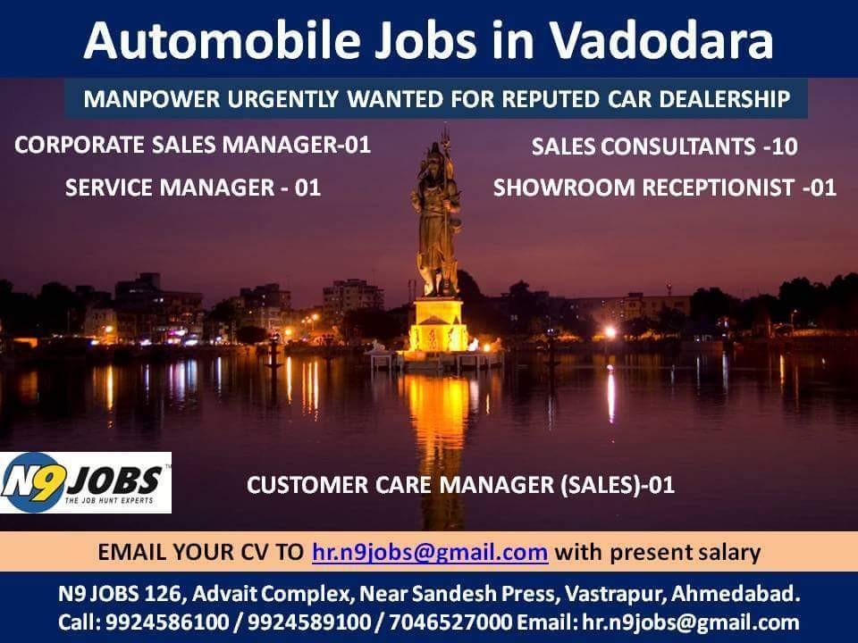 Automobile Jobs - Magazine cover