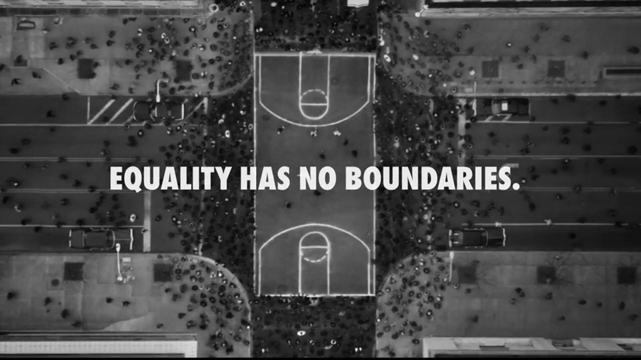 Outstanding campaign alignment coupled w/ a powerfully relevant brand narrative @Nike #Equality