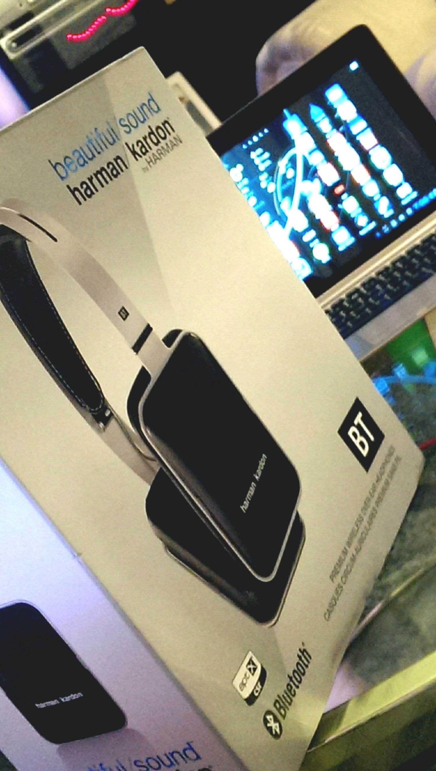 Harman Kardon BT Bluetooth Headphones on deck.... Unboxing video coming up...