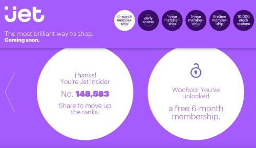 Jet Is The New Trendy E-commerce Site