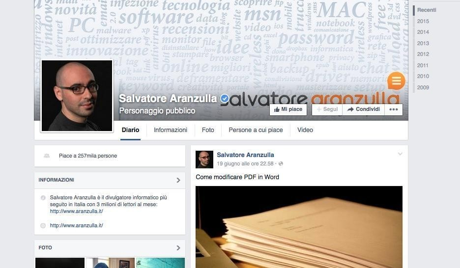 """""""Fare soldi su Internet"""" con Salvatore Aranzulla"""