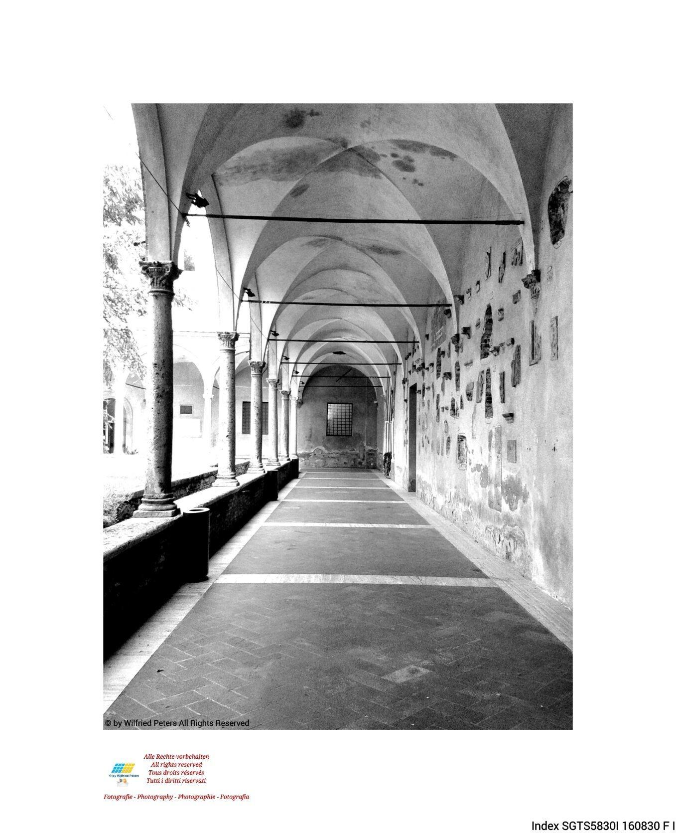 #Fotografie #Photography #Photographie #Fotografia #schwarzweiss #blackandwhite #noiretblanc #biancoenero #Italien #Italy #Italie #Italia #Kreuzgang #Cloister #Cloître #Chiostro