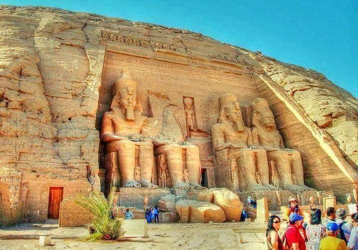 temple of Rameses. II .aswan. Egypt