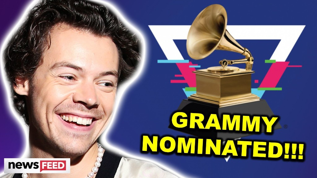 Harry Styles Is First Ever One Direction Member To Get A Grammy Nomination!