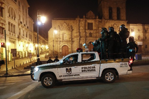 Morales says he's headed for Mexico as clashes rock Bolivia