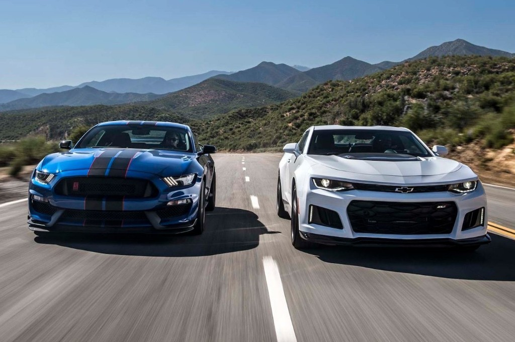 2017 Chevrolet Camaro ZL1 vs. 2017 Ford Mustang Shelby GT350R: The Forever War