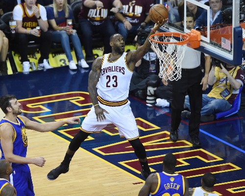 Cavs Crush Warriors in Game 3: Pictures