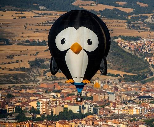 European Hot Air Balloon Festival in Pictures