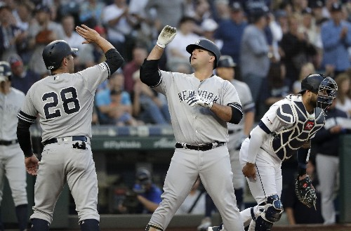 Torres and Ford stay hot as Yankees top Mariners 5-4