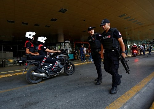 Turkish police detain 13 people over Istanbul airport attack: official