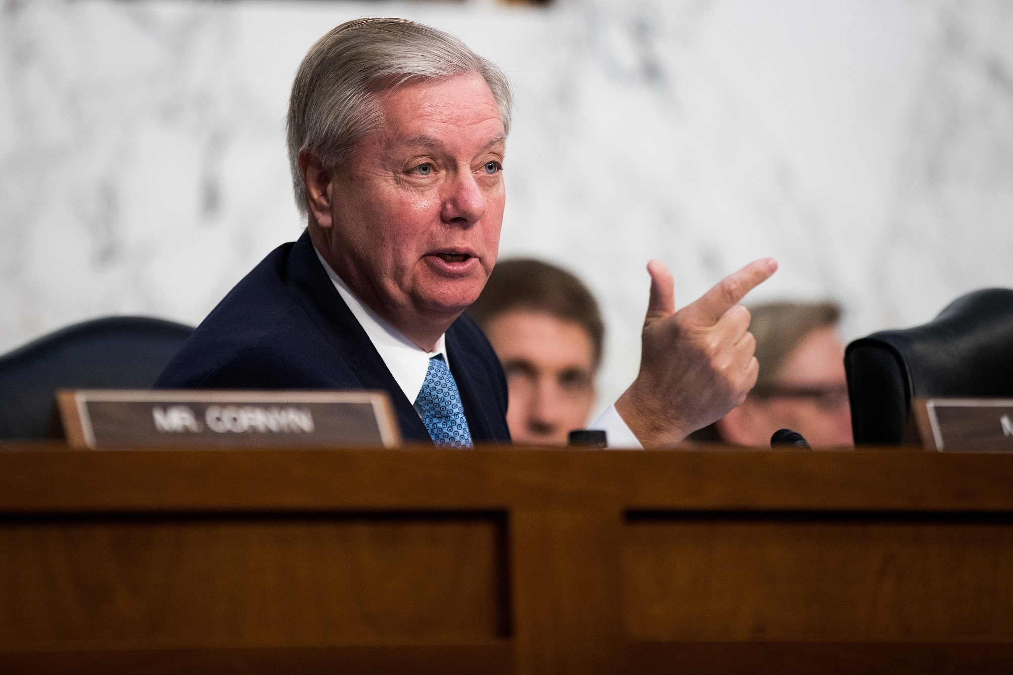 """Lindsey Graham: Trump """"told me"""" he will bomb North Korea if it keeps testing missiles"""