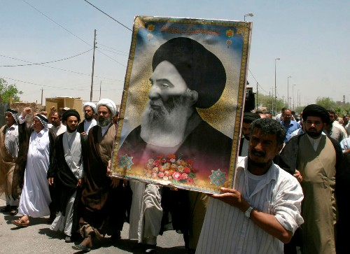Abandoned and attacked, some Iraq protesters look to an ayatollah