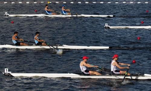 Journée morose pour l'aviron français à Rotterdam
