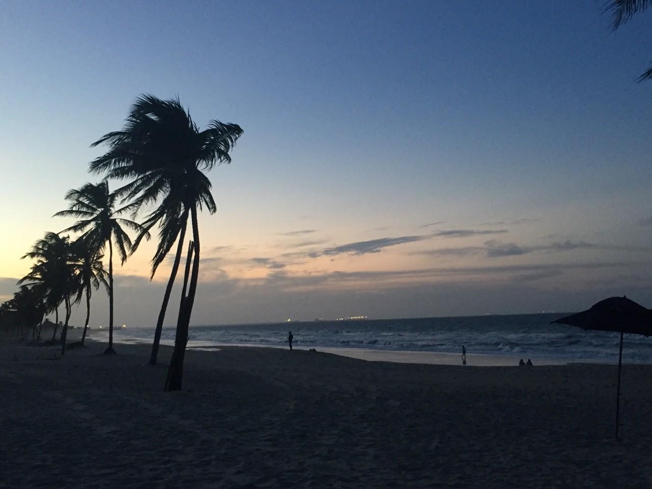 Entardecer Praia do Cumbuco