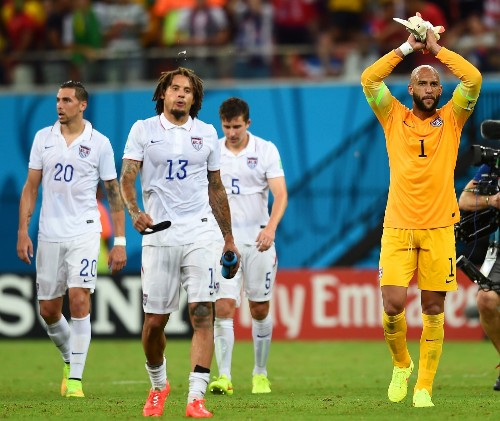 Portugal Ties US on Late Goal: Photo Gallery