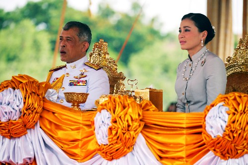 Thai king fires palace officials for 'extremely evil' conduct