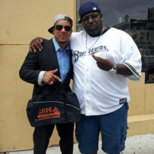 chillin with C & Music Factory's Freedom Williams in the Bronx, NY!