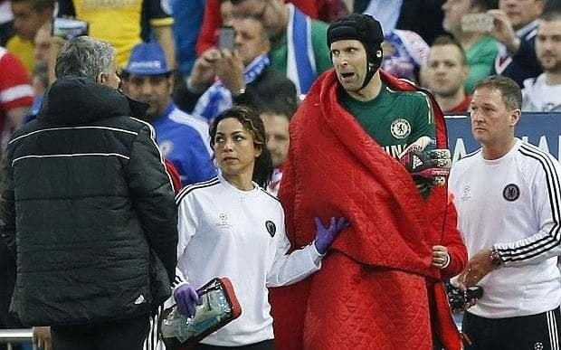 Chelsea manager Jose Mourinho leaves Petr Cech in the dark over his future at Stamford Bridge