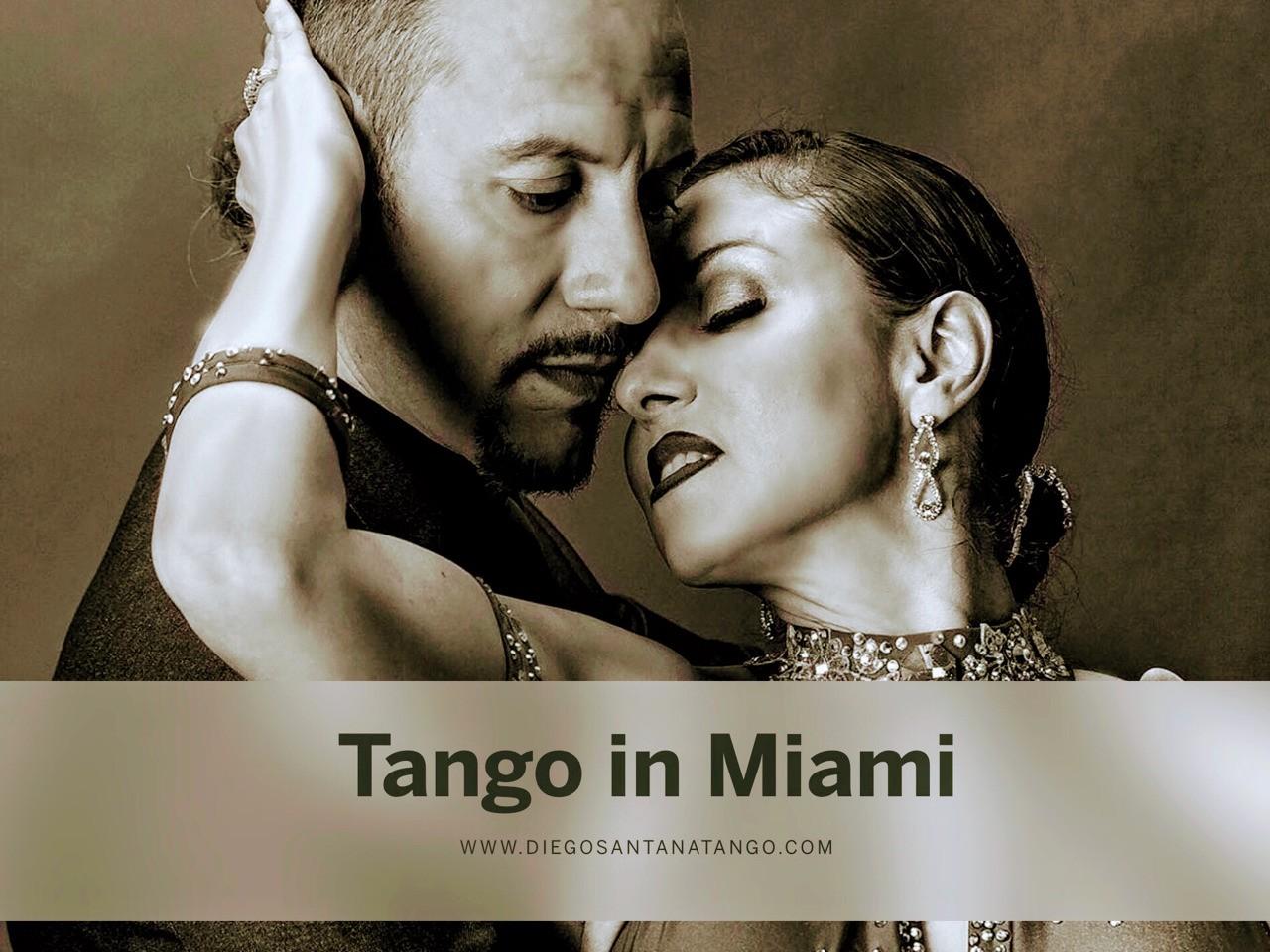 Tango in Miami #tangoinmiami www.diegosantanatango.com
