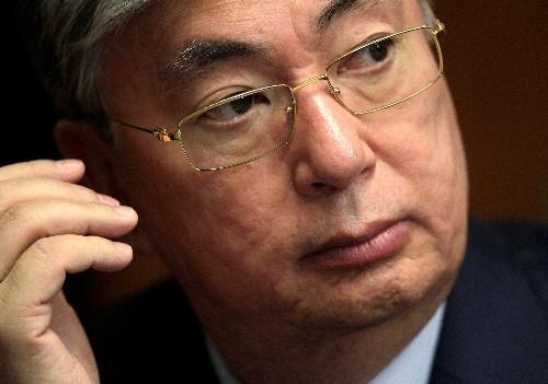 New Kazakh president pledges continuity
