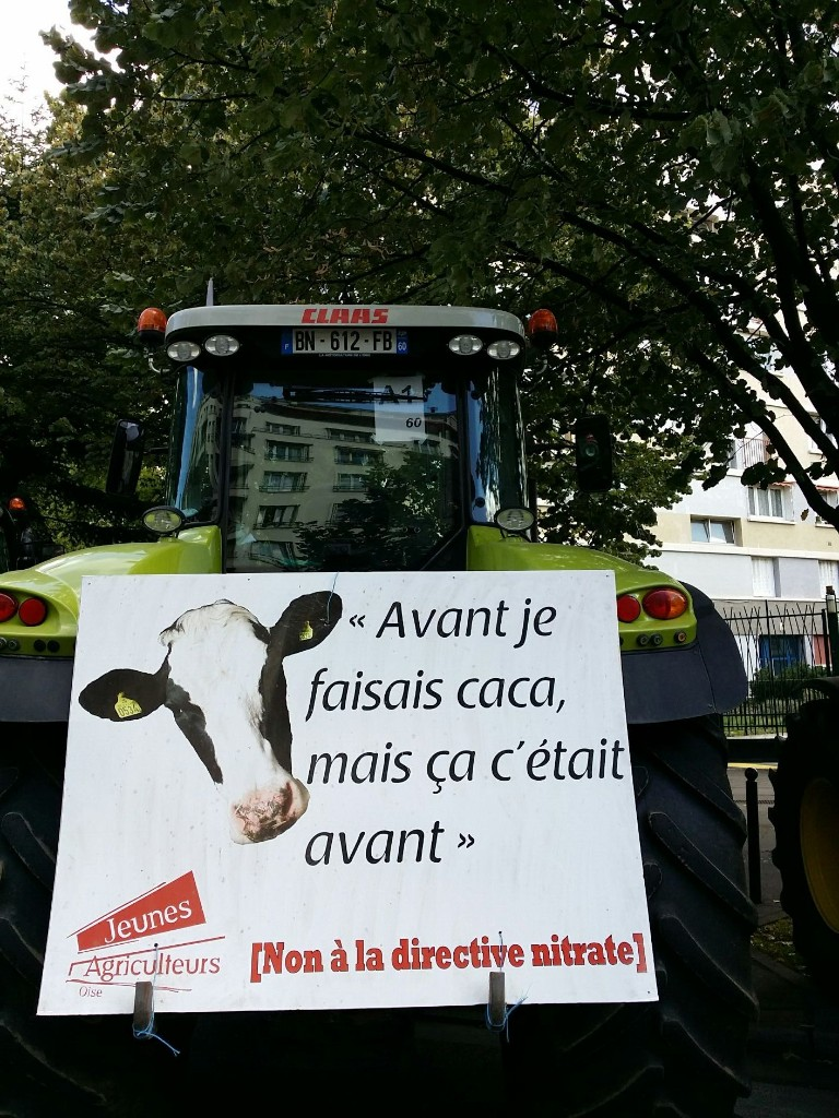 Farmers Demonstrations In Paris Today - Magazine cover