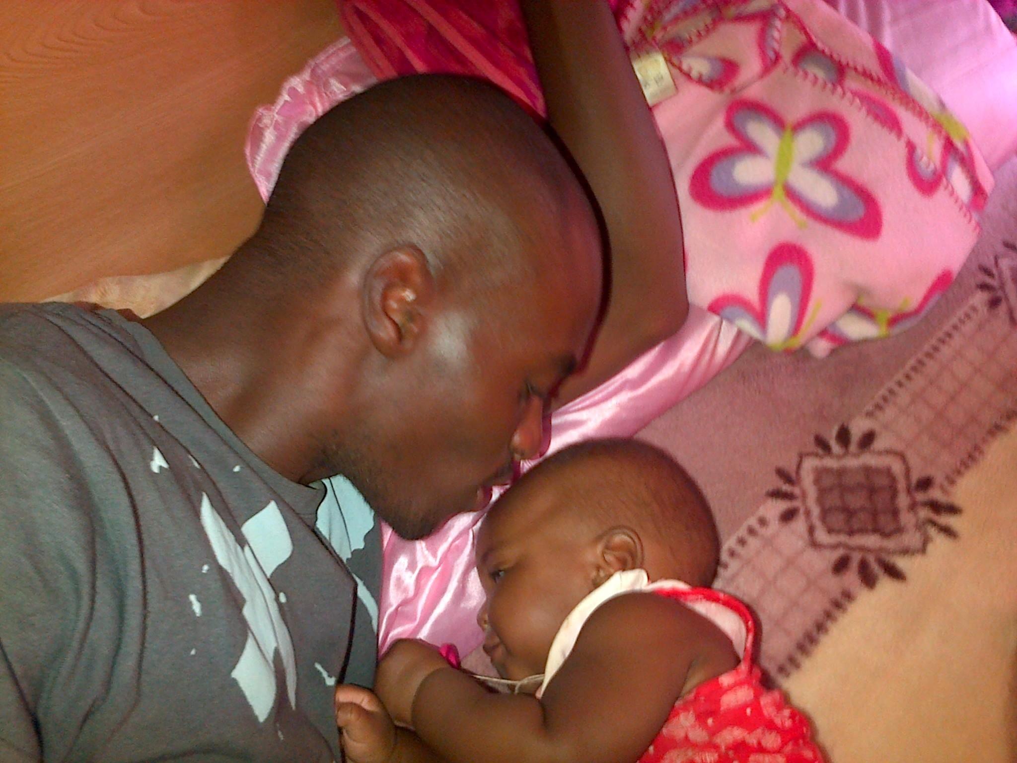 Bonding with my angel
