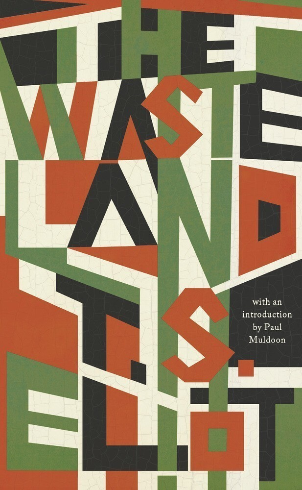 The Waste Land by T.S. Eliot - cover