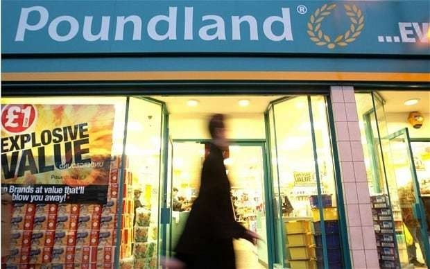 Poundland to hit £1bn sales mark as bargain fever continues