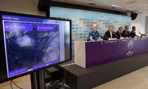 Rugby: Italy out as World Cup games called off for first time due to typhoon