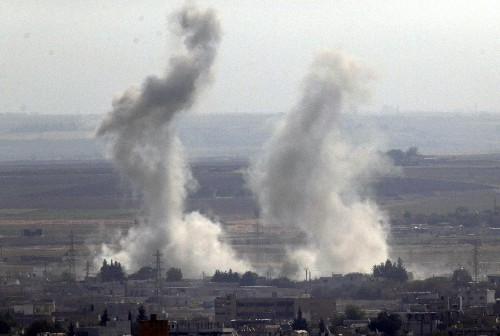 The Latest: Erdogan rejects call for ceasefire in Syria