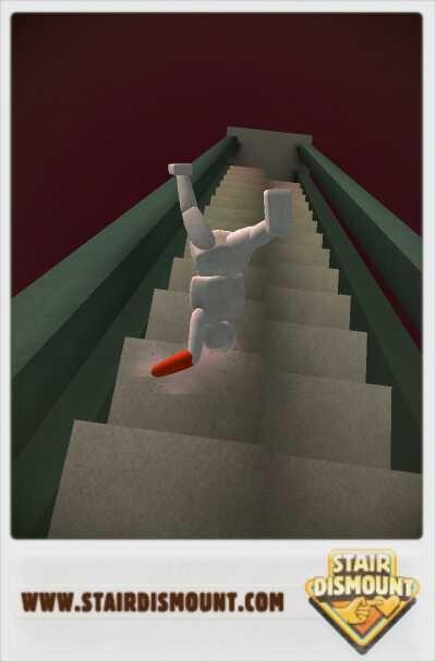 Voilà s ce qui s'appelle dévaler l'escalier LOL:-)