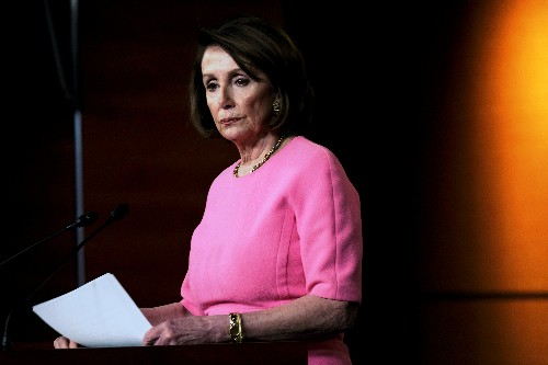 Trump retweets doctored video of Pelosi to portray her as having 'lost it'