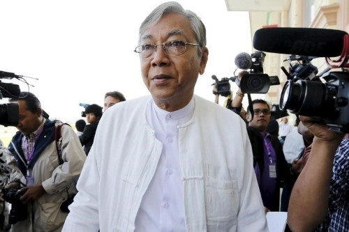 Myanmar's parliament elects Suu Kyi confidant as president
