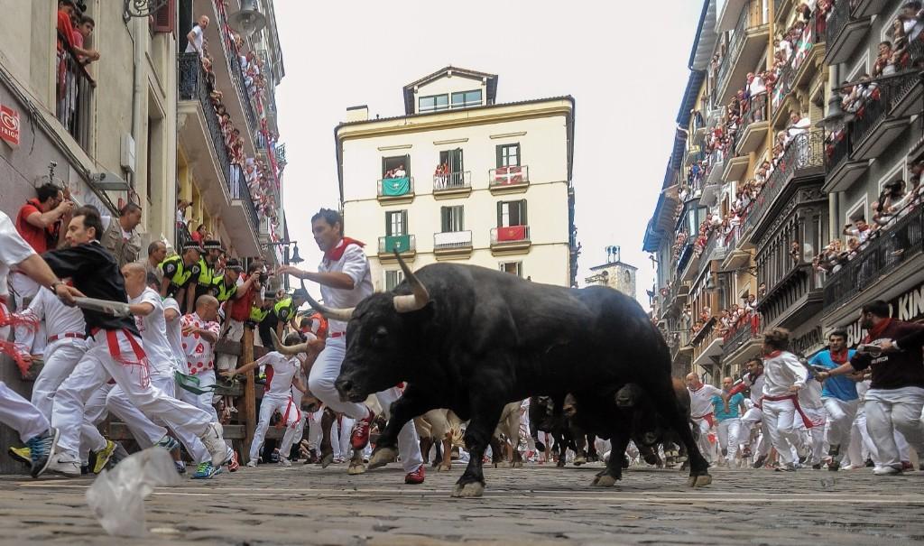 running of the bulls - Magazine cover