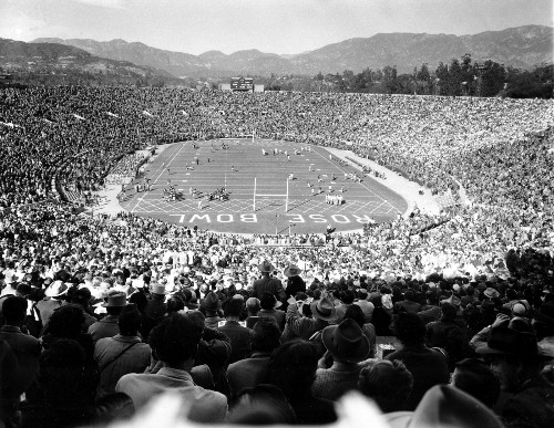 History of the Rose Bowl in Pictures