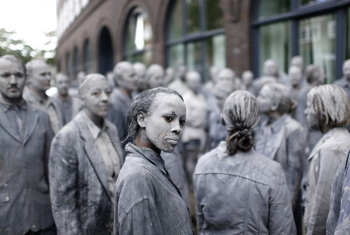 Zombies Protest the G20 in Hamburg: Pictures