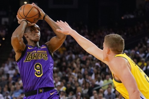 Lakers G Rondo cleared for full-contact practice