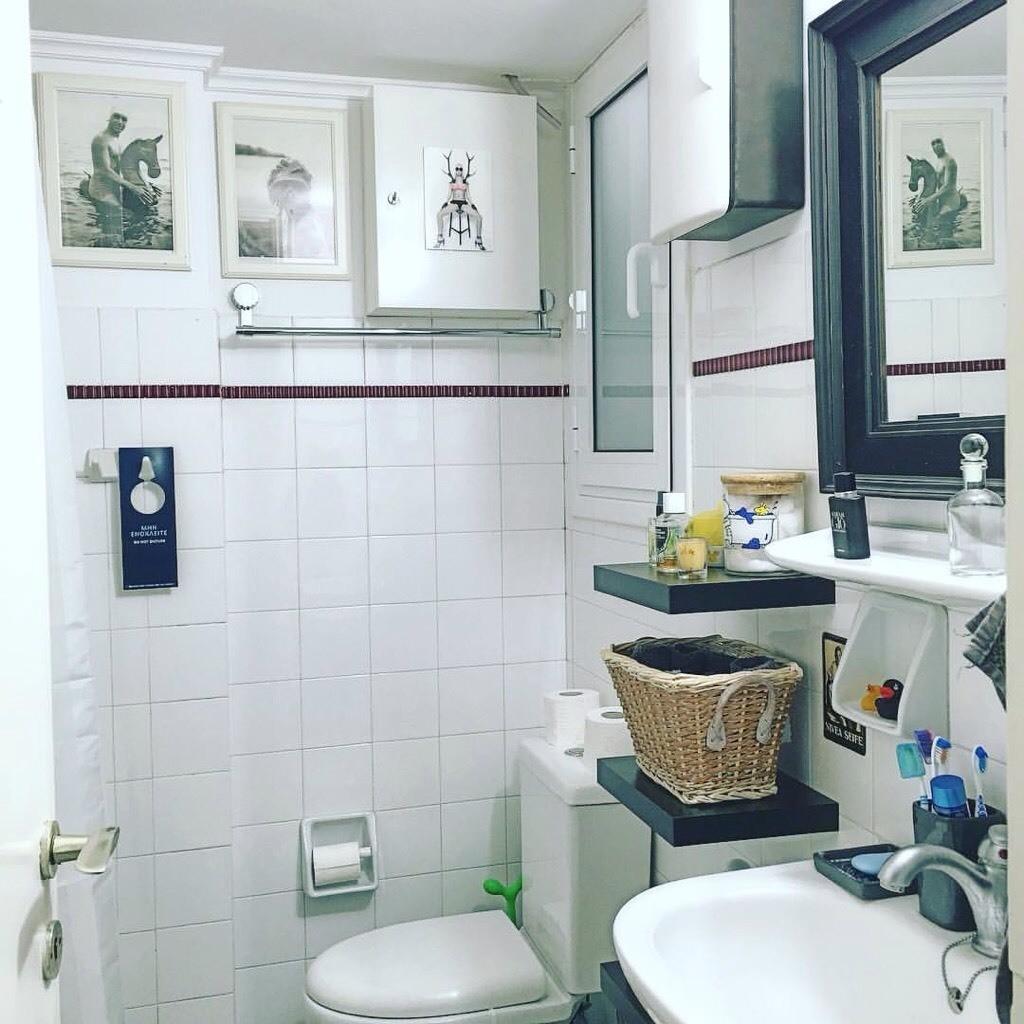 Bathroom deco idea