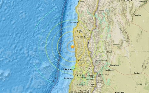 Chile earthquake: 10 people killed and a million evacuated - as it happened