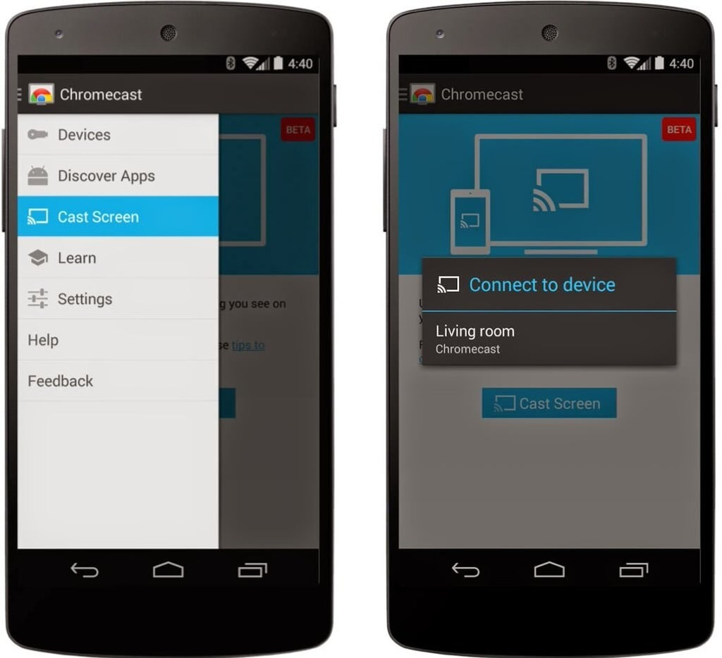 Google now lets you mirror your Android phone and tablet on your TV with Chromecast