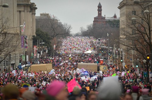 Photos of the Women's Marches Around the World